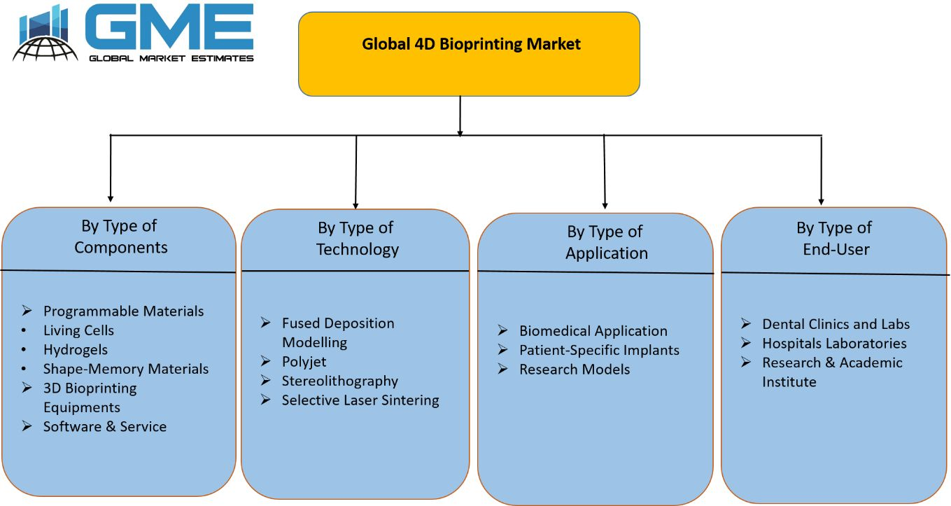 Global 4D Bioprinting Market Segmentation