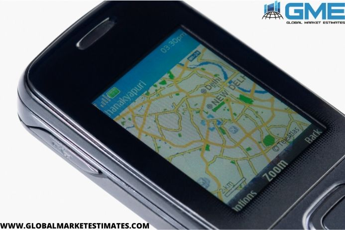 global mobile device location determination market